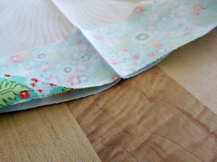 Sewing Full Circles: Nesting Pressed Indication Lines