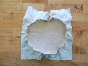 Sewing Full Circles: Sewn, Prior to Pressing