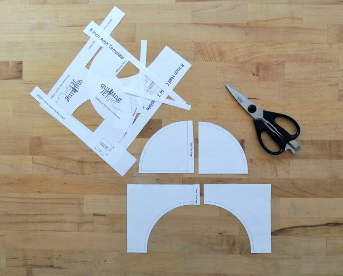 Sewing Full Circles: Cut Out Templates