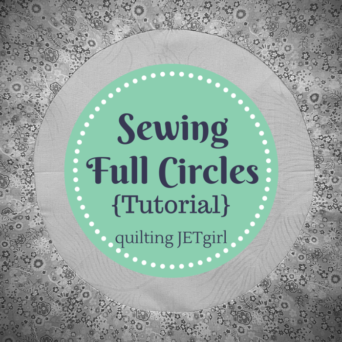 Sewing Full Circles