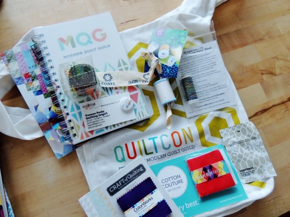 QuiltCon Giveaway Swag Bag 2