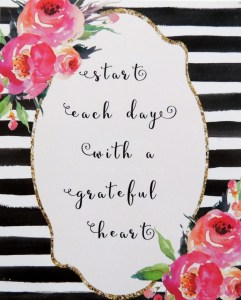 Stash Builder Box: Start Each Day with a Grateful Heart