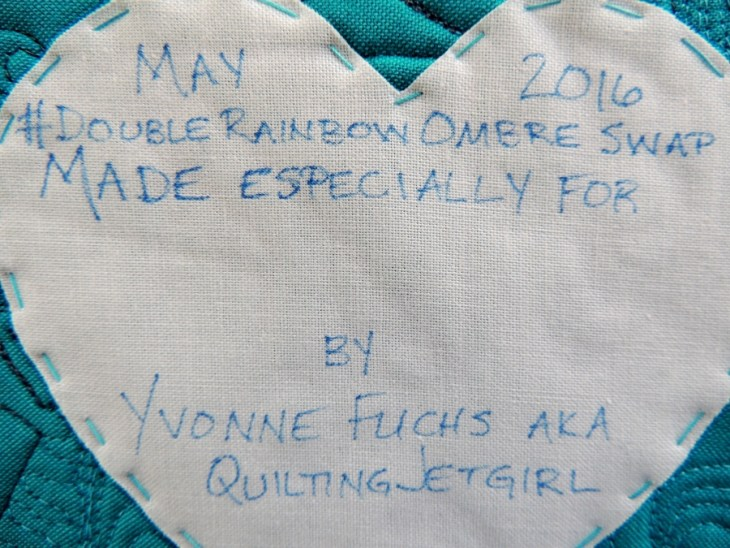 Crafted Applique Quilt Label
