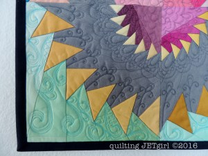 Ombre Mini Quilt Quadrant