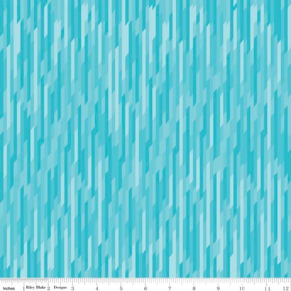 Desert Strip Blue