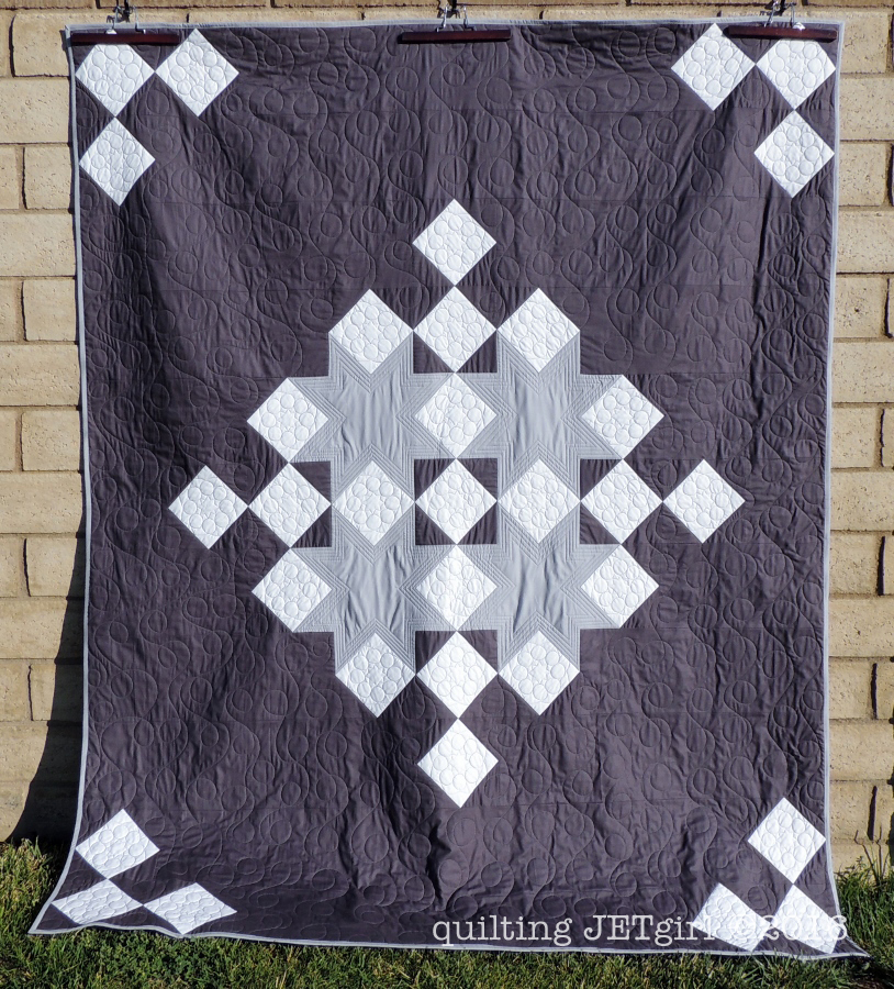 Snowflake Shimmer Quilt Along {Fabric Selection}