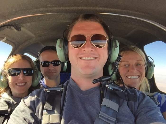 Flying in Catbird