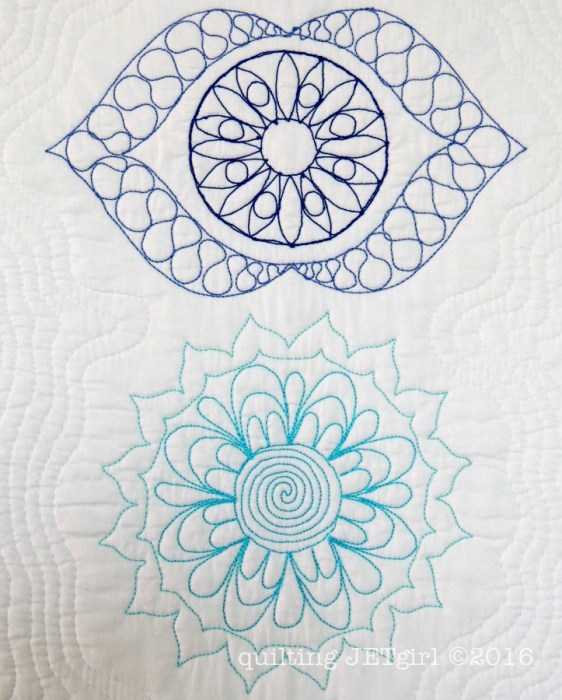 Quilt the Life Into It - Turquoise and Blue 12wt