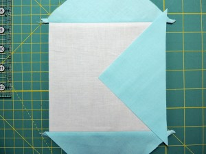 Square in a Square Tutorial - Placing Third Triangle