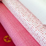 Triangle Transparency Sample Fabric Bundle: Pink