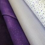 Triangle Transparency Sample Fabric Bundle: Purple