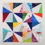 Wonky Pinwheel Block