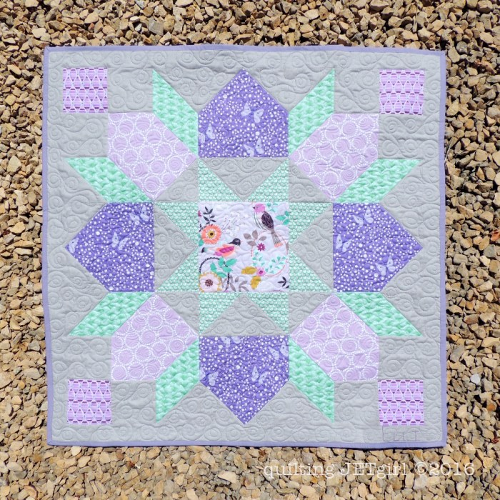 Lucent Baby Quilt