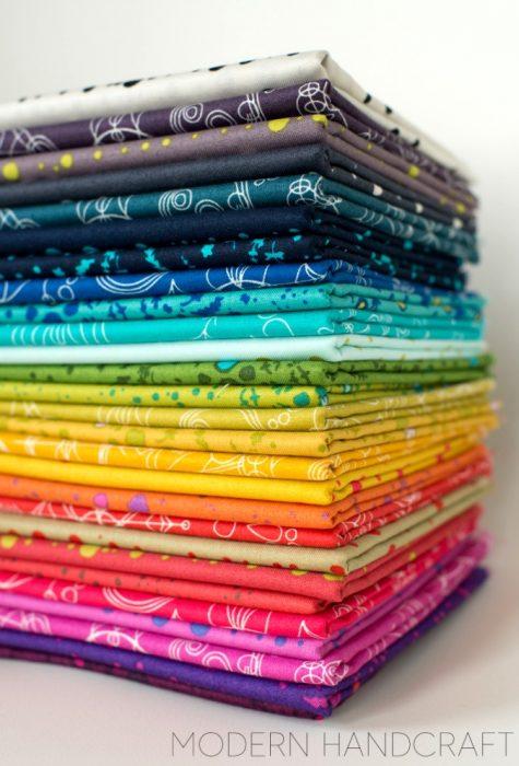 Bundle of Alison Glass Sun Prints (Photo Credit: Nicole @Modern Handcraft)