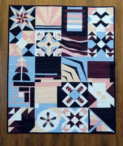 Paintbrush Studio New Block Quilt - After First Wash