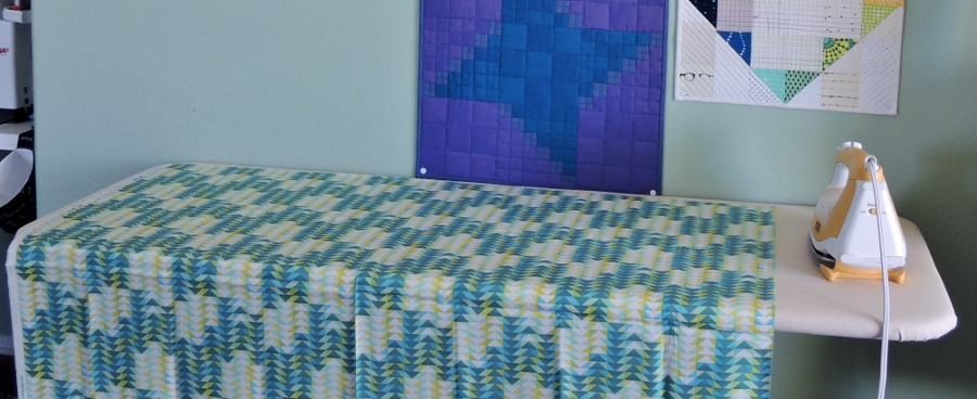 How to Modify Your Ironing Board into a Rectangular (Quilter's) Ironing Board