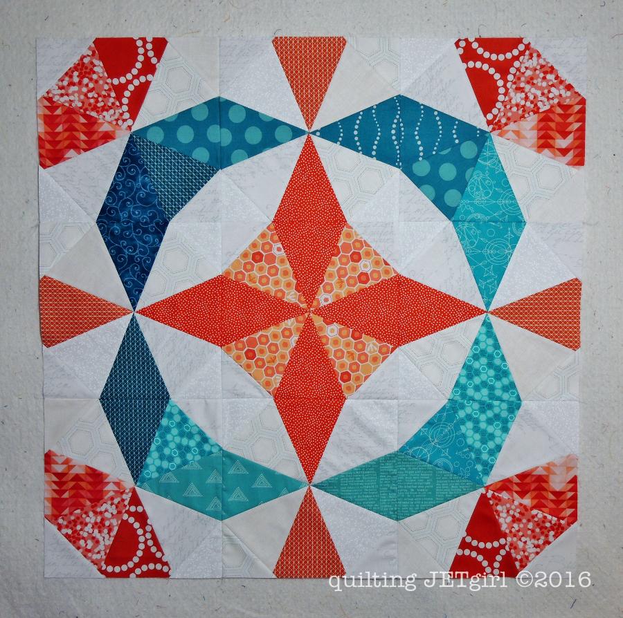 Kaleidoscope Mini Quilt Top