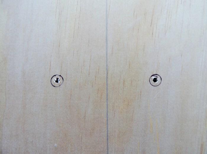 Step 4 - Pre-Drill Screw Holes