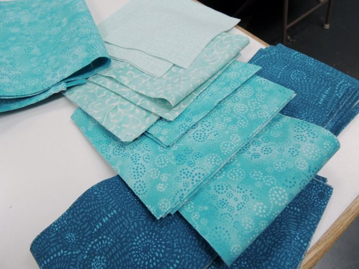 Student 1 - Fabric Selection