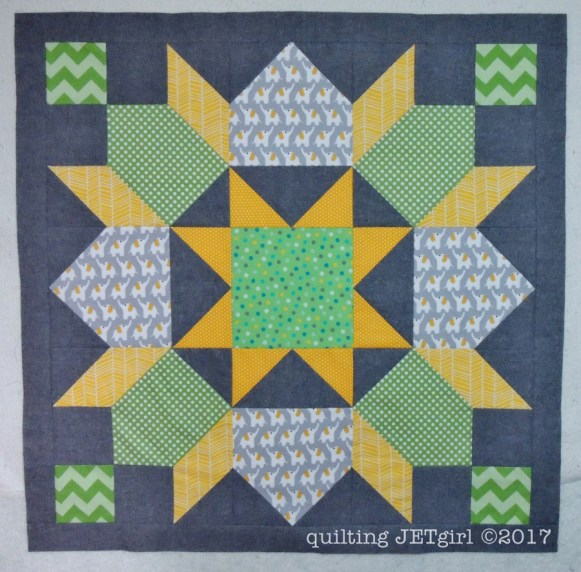 Baby Carter Lucent Quilt - Finished Flimsy