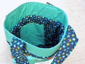 Busy Bag #1 - Interior View
