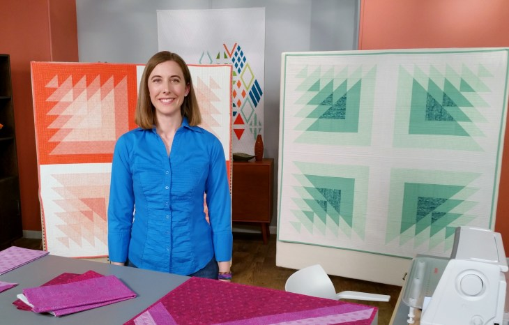Fresh Quilting Episode 206 – Quilting Jetgirl : fresh quilting - Adamdwight.com