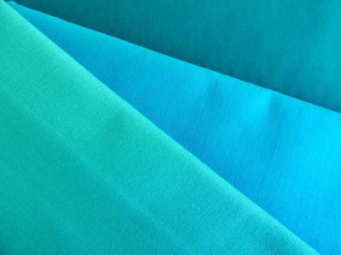 Painter's Palette Solids - Paul Aqua, Cyan, and Gulfstream