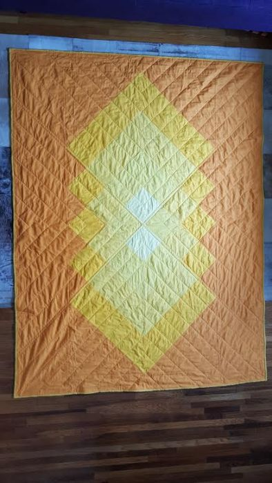 Warm Sunburst Made by Madilyne Malone