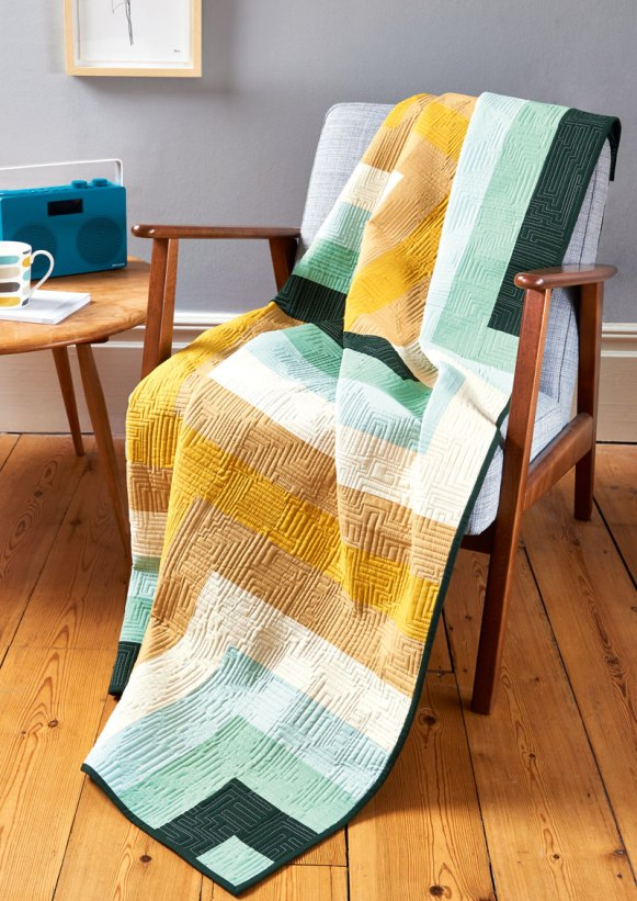 Digital Wave in LP&Q Issue 50 - Photo Courtesy of Love, Patchwork & Quilting