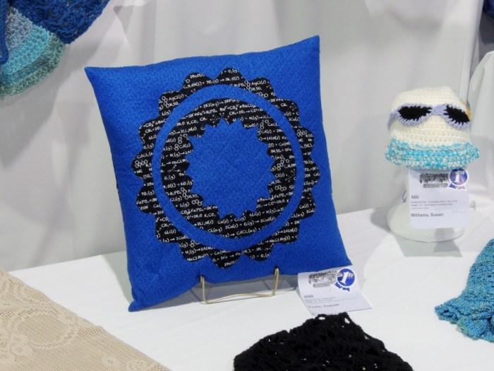 Blue Rin Pillow
