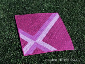 Cross Check Mini Quilt