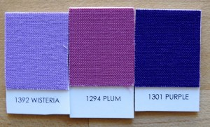 Kona Wisteria, Plum, and Purple