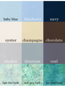 Honey, Bunny, and Doll Color Combinations