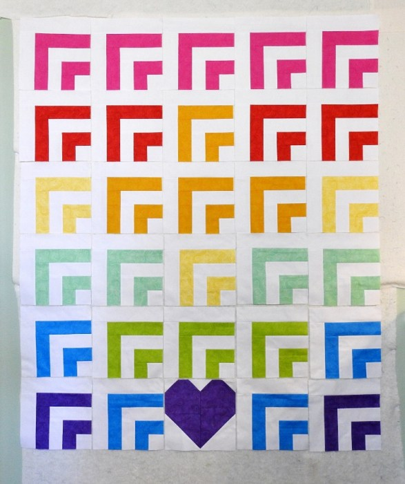 #QuiltsForVegas - Second Quilt Top