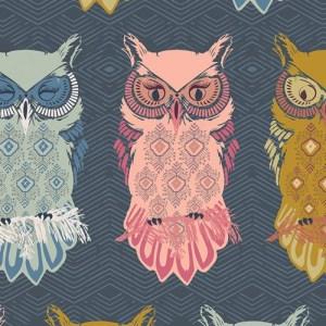 Birds of Night in Slate