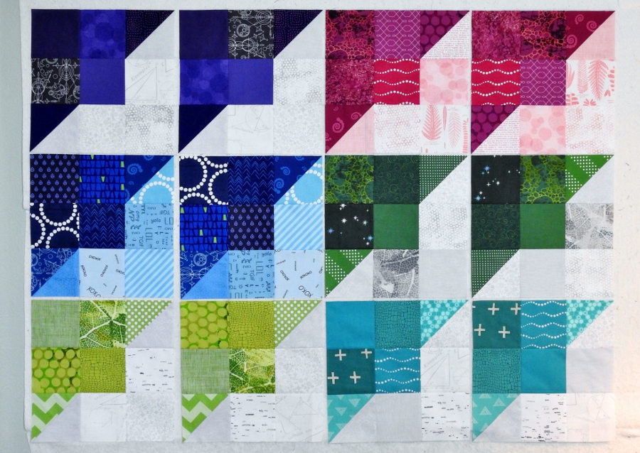 Perkiomen Valley Blocks {Thomas Fire Relief Quilts}