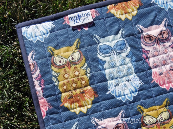 Quilt for Zoe - First Dutch Label Use!
