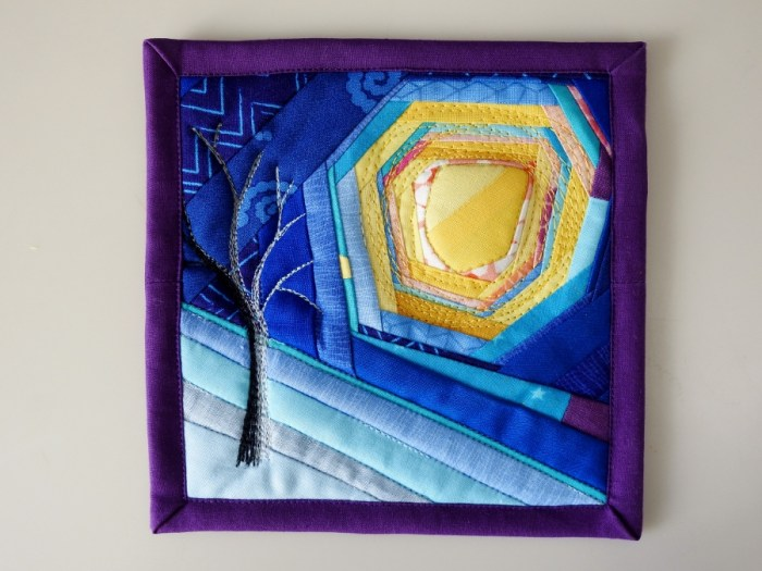 Winter Solstice Mini Mini Quilt