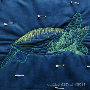 Deep Dive Mini Quilt - Step Two