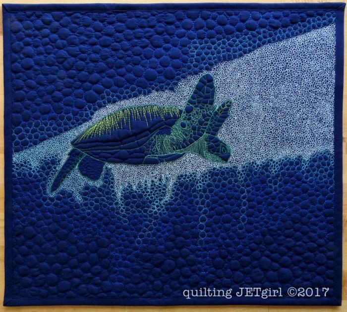 Deep Dive Mini Quilt