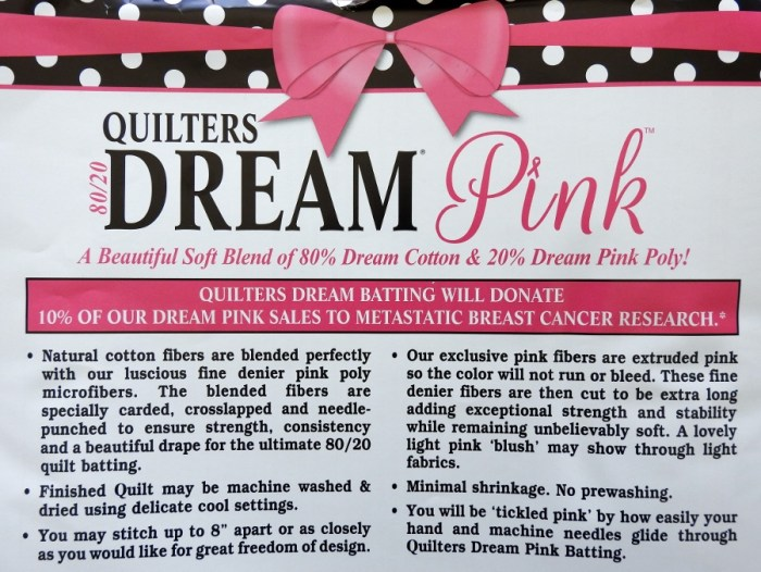 Quilter's Dream Dream Pink