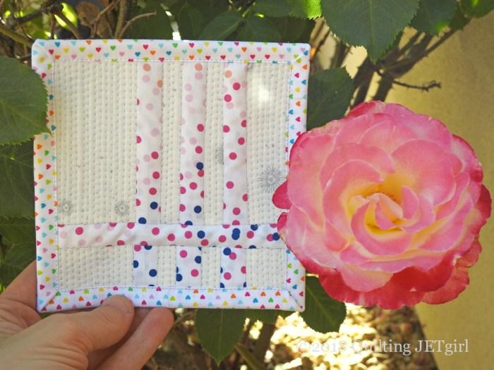 June Patreon Mini Mini Quilt - Love All Color