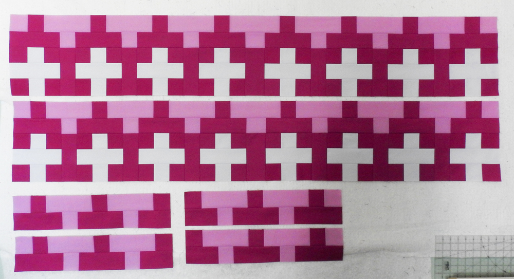 Modern Plus Sampler Tribal Rows