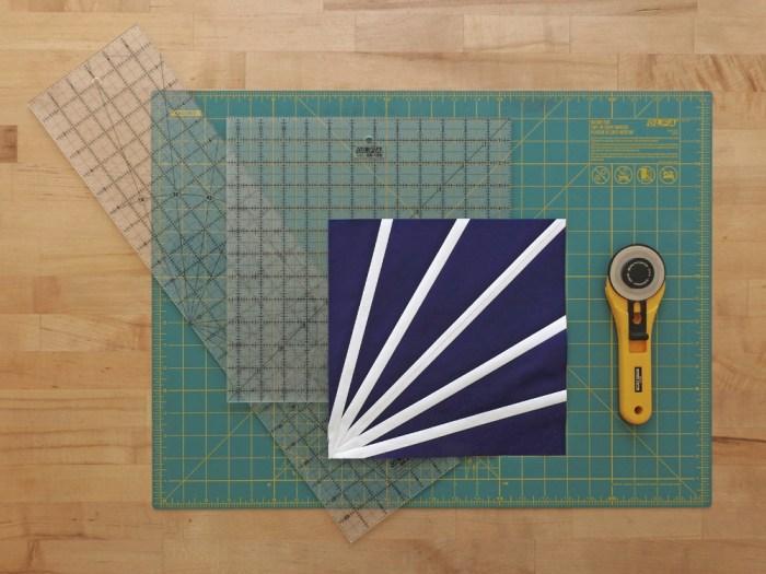 Diffraction Quilt Block Tutorial