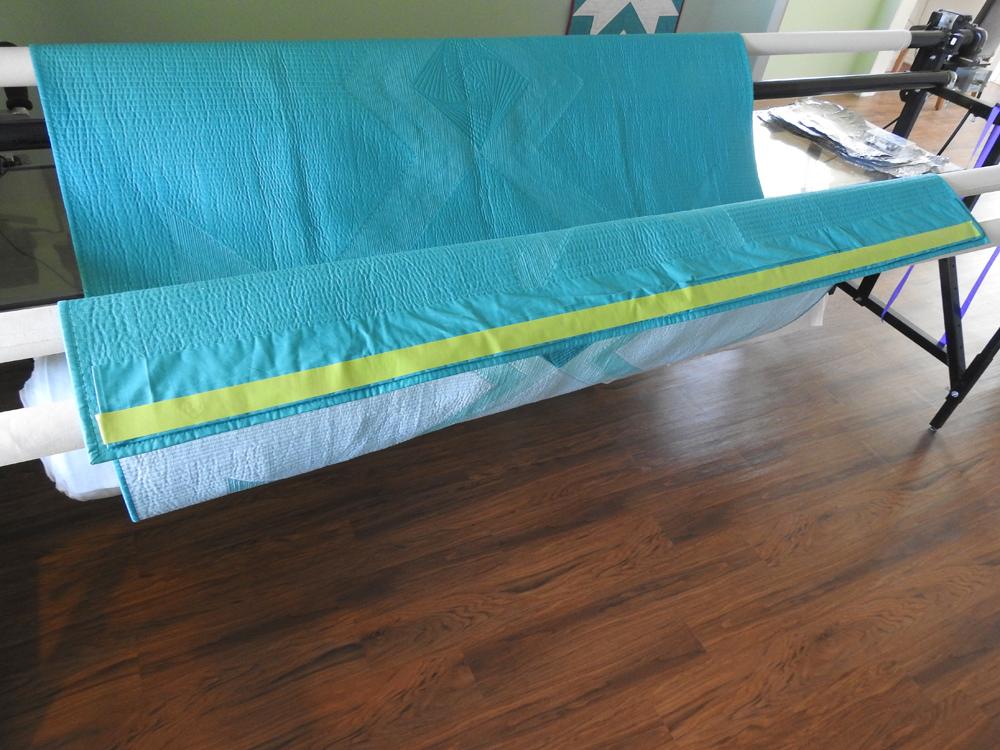 Quilt Hanging Preparation