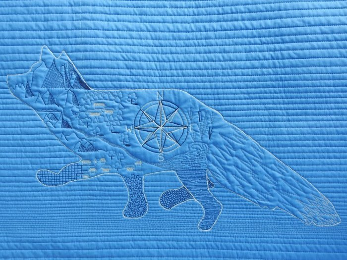 Fox Wholecloth Quilt - My Fox