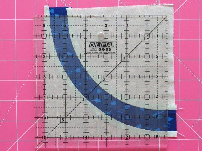 """Quarter Arch Tutorial - Trim to 6"""" Square"""