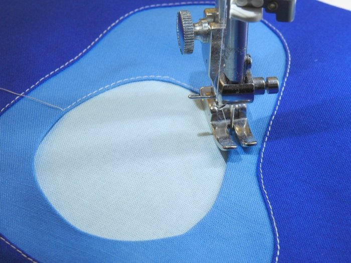 Reverse Applique Process
