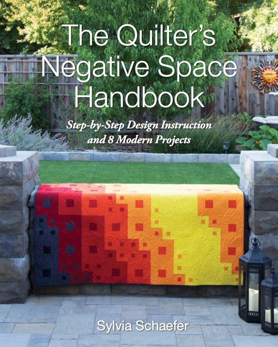 Quilter's Negative Space Handbook Blog Hop & Giveaway