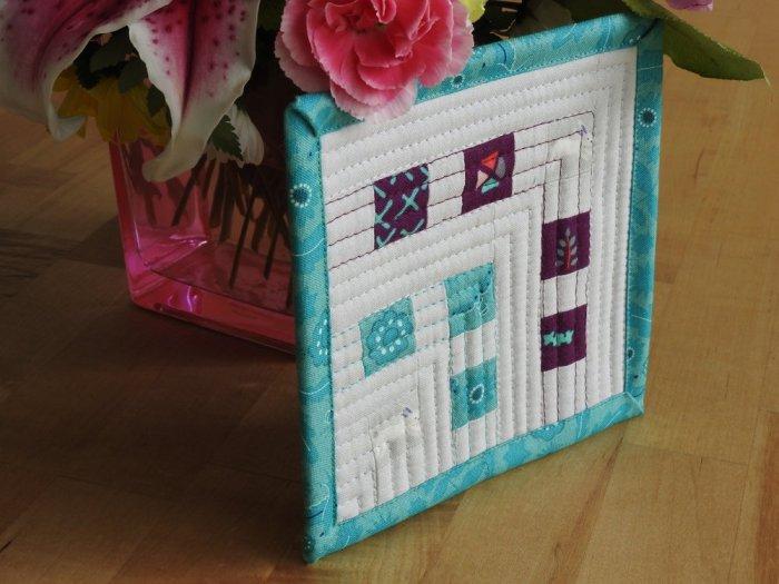 Fussy Cut Mini Mini Quilt